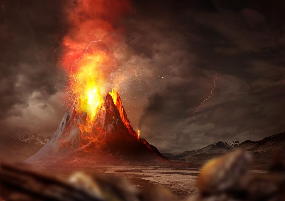 Вулканы устроят нам геенну огненную, если ученые не ошибаются.