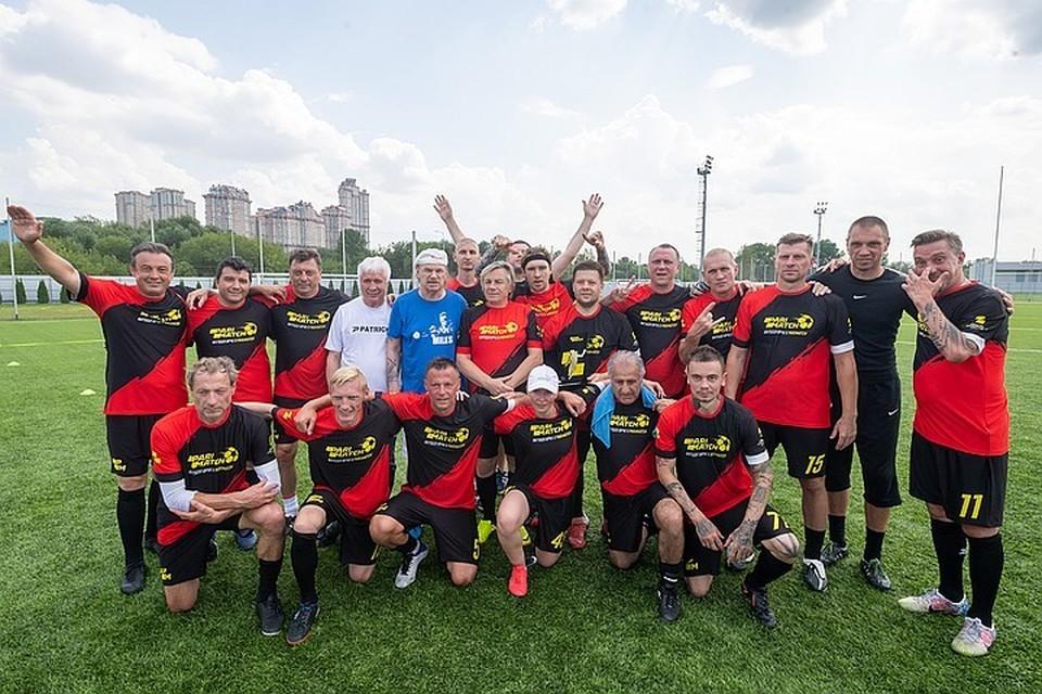 ФК «Артист» - победитель первого медиа-турнира Кубка Париматч Премьер