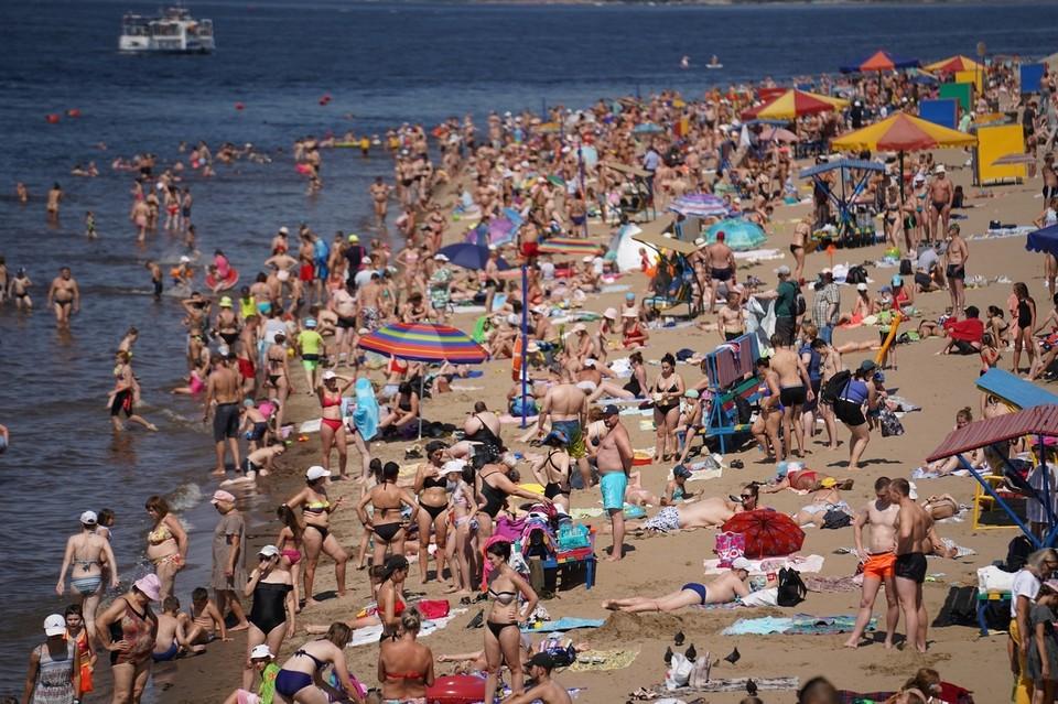 На некоторых пляжах в Самаре лучше не купаться