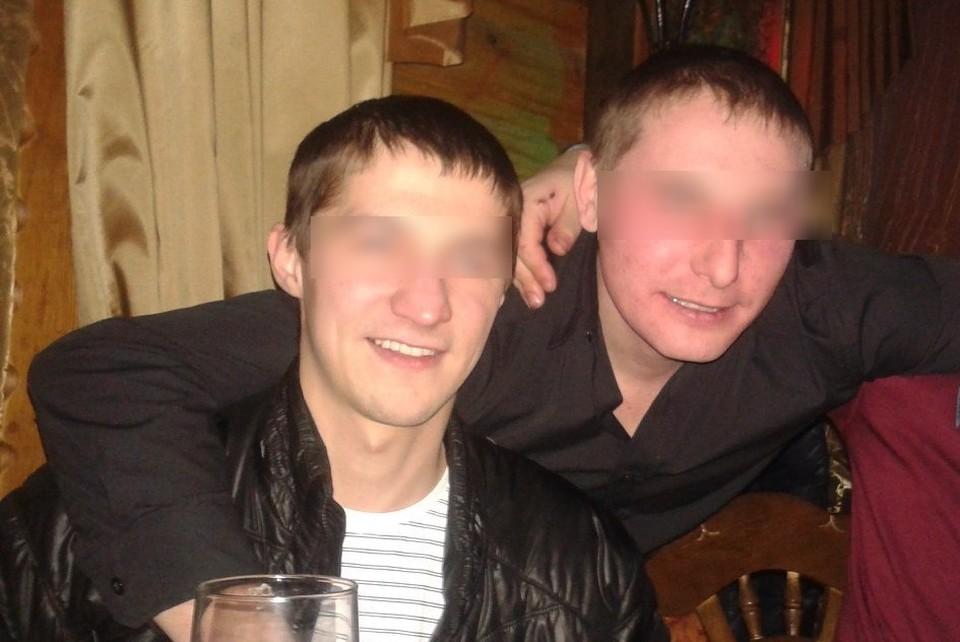 Олег (слева) и Вячеслав были близкими друзьями