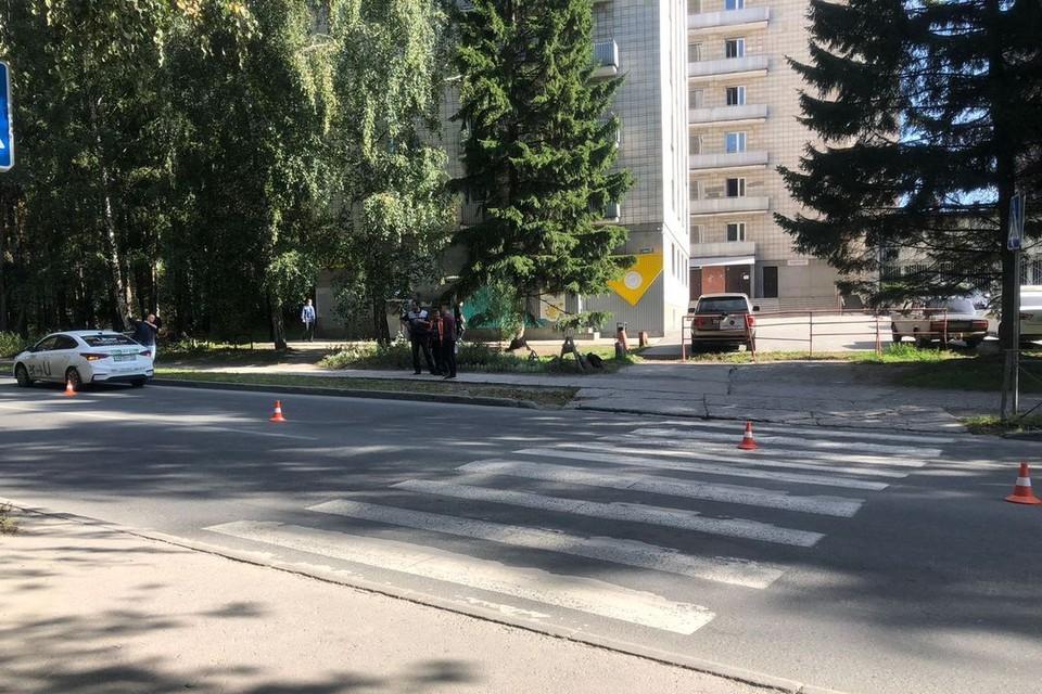 В Новосибирске молодой водитель сбил подростка, переходившего дорогу. Фото: Госавтоинспекция по Новосибирске