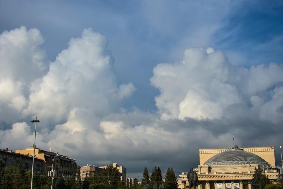 Сегодня снова будет пасмурное небо.