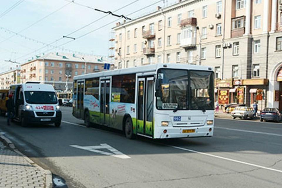 Один из автобусов будет ходить дальше.