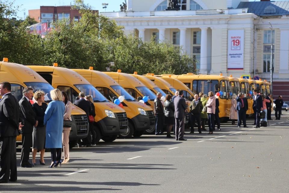 Орловская область получила 29 новых школьных автобусов «ГАЗ» и «ПАЗ». Фото: пресс-служба регионального Правительства